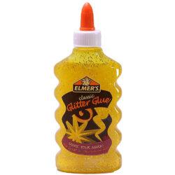 Pegamento para Slime con Glitter Elmer's 177 ml Amarillo