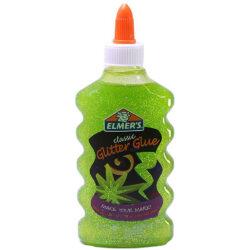 Pegamento para Silme con Glitter Elmer's 177 ml Verde