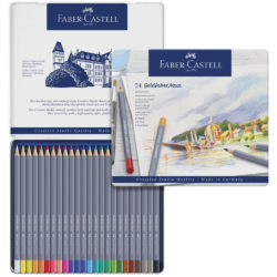 Set 24 Lápices de Color Acuarelables Faber-Castell Goldfaber Aqua Vista