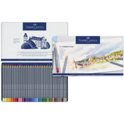 Set 36 Lápices de Color Acuarelables Faber-Castell Goldfaber Aqua Vista