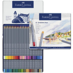 Set 48 Lápices de Color Acuarelables Faber-Castell Goldfaber Aqua Vista