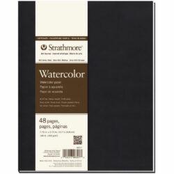 Art Journal Tapa Blanda con Papel para Acuarela Strathmore Serie 400 (19.7 x 24.8 cm)