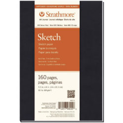 Art Journal Tapa Blanda con Papel para Esbozos Strathmore Serie 400 (14 x 20.3 cm)