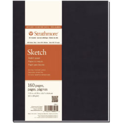 Art Journal Tapa Blanda con Papel para Esbozos Strathmore Serie 400 (19.7 x 24.8 cm)
