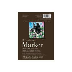 Bloc de Papel para Marcador Strathmore Serie 400 (15.2 x 20.3 cm)
