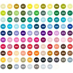Estuche 108 Marcadores Acuarelables Doble Punta Tombow Dual Brush Pens Colores