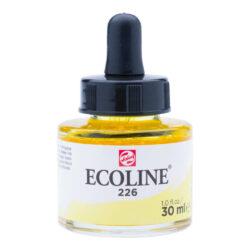 Frasco de Acuarela Líquida ECOLINE 30 ml – Amarillo Pastel 226