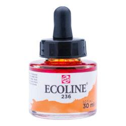 Frasco de Acuarela Líquida ECOLINE 30 ml – Naranja Claro 236