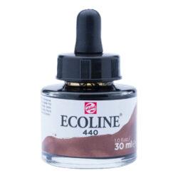 Frasco de Acuarela Líquida ECOLINE 30 ml – Sepia Oscuro 440