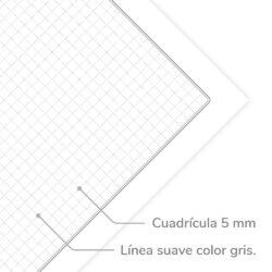Paquete 100 Hojas Trapper Carta IRBE 3 Perforaciones 75 gr. Características