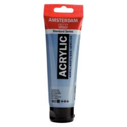 Tubo 120 ml Pintura Acrílica AMSTERDAM – Serie Estándar – Azul Grisaceo 562