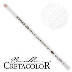 Lápiz Blanco para Bellas Artes CRETACOLOR Pastel Graso