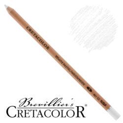 Lápiz Blanco para Bellas Artes CRETACOLOR Tiza Pastel suave (1)