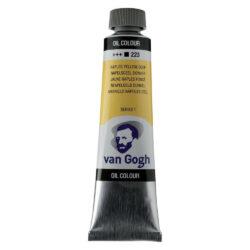 Tubo de Pintura al Óleo Van Gogh 40 ml - Amarillo Nápoles Oscuro 223