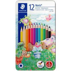 Estuche Metálico con 12 Lápices de Color STAEDTLER Noris®