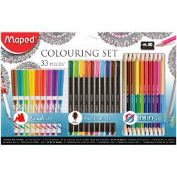 Kit 33 Piezas para Colorear Maped