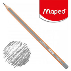 Lápiz Triangular Negro Maped Black'Peps H