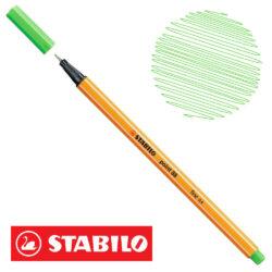 Micropunta 0.4 STABILO Point 88-43 Verde Claro