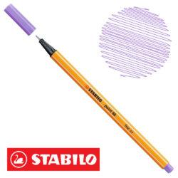 Micropunta 0.4 STABILO Point 88-59 Lila Claro