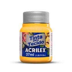 Pintura para Tela Acrilex 37 ml - Amarillo Yema 833