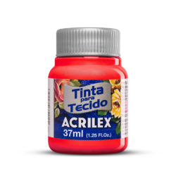 Pintura para Tela Acrilex 37 ml - Rojo Escarlata 508-N