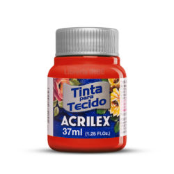 Pintura para Tela Acrilex 37 ml - Rojo Tomate 583