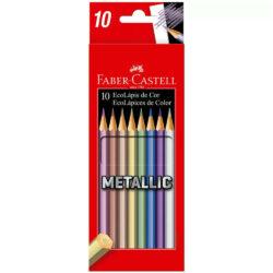 Set 10 EcoLápices de Colores Metálicos Faber-Castell