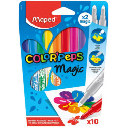 Set 10 Marcadores Mágicos Maped Color'Peps Magic