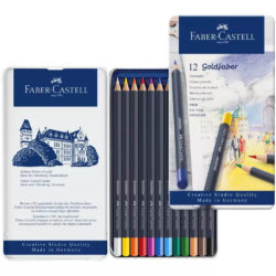 Set 12 Lápices de Color Faber-Castell Goldfaber Creative Studio