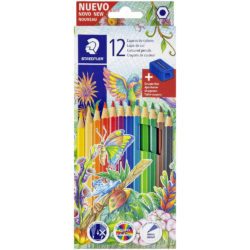Set 12 Lápices de Color + Sacapuntas STAEDTLER