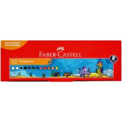 Set 12 Témperas Faber-Castell