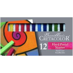 Set 12 Tizas Pastel para Bellas Artes CRETACOLOR - Inicial