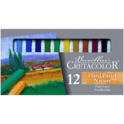 Set 12 Tizas Pastel para Bellas Artes CRETACOLOR - Naturaleza