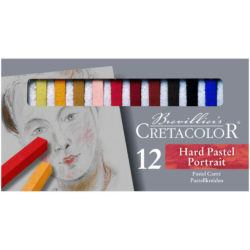 Set 12 Tizas Pastel para Bellas Artes CRETACOLOR - Retratos