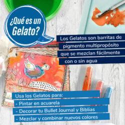 Set 15 Piezas Mix & Match Gelatos Faber-Castell Colores Metálicos Usa