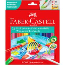 Set 24 EcoLápices de Color Acuarelable Faber-Castell