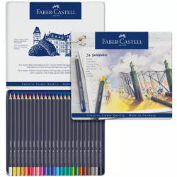 Set 24 Lápices de Color Faber-Castell Goldfaber Creative Studio