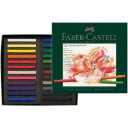 Set 24 Tizas Pastel para Artistas Faber-Castell POLYCHROMOS
