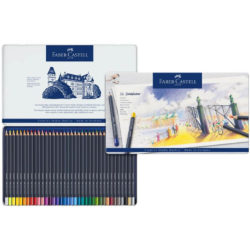 Set 36 Lápices de Color Faber-Castell Goldfaber Creative Studio