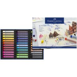 Set 36 Tizas Pastel Blandas Faber-Castell Creative Studio