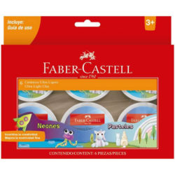 Set 6 Botes de Cerámica Ultra Ligera Faber-Castell