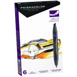 Set 6 Marcadores Artísticos Doble Punta Prismacolor Premier