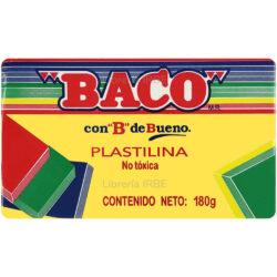 Barra de Plastilina -BACO- 180 gr - Amarillo