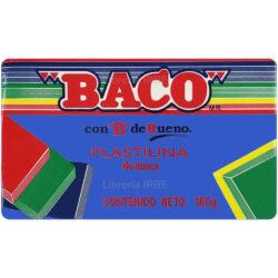 Barra de Plastilina -BACO- 180 gr - Azul