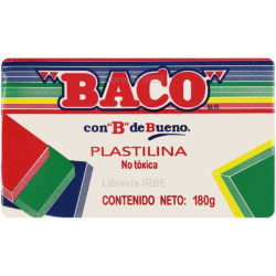 Barra de Plastilina -BACO- 180 gr - Blanco