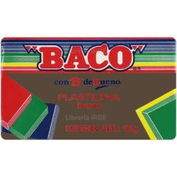 Barra de Plastilina -BACO- 180 gr - Marrón