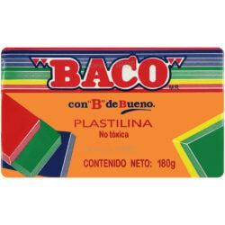 Barra de Plastilina -BACO- 180 gr - Naranja