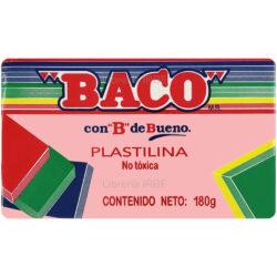 Barra de Plastilina -BACO- 180 gr - Rosa