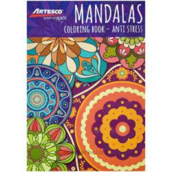 Libro de Colorear para Adultos - Mandalas - Anti Stress - Artesco