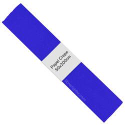 Rollo de Papel Crepé (50 x 200 cm) Azul